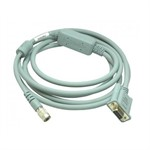 Cable - 2.5m, Hirose 6 pin USB to DB9 female RS232